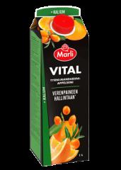 Marli Vital Tyrni-mandariini-appelsiini + kalium 1 L