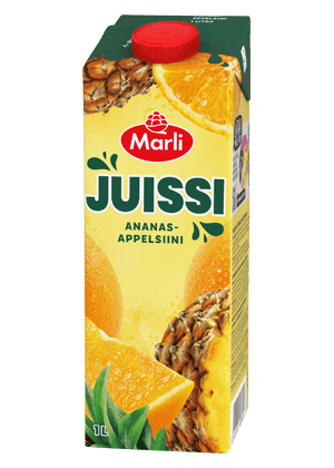 Marli Juissi Ananas-appelsiinimehujuoma 1L