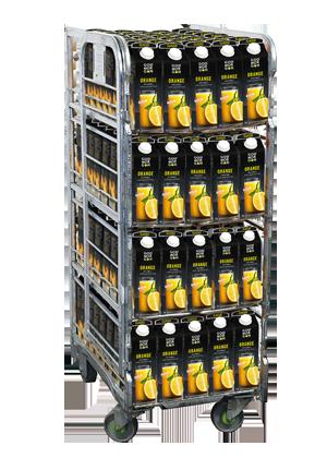 God Morgon Classic Appelsiinitäysmehu 1L x 160