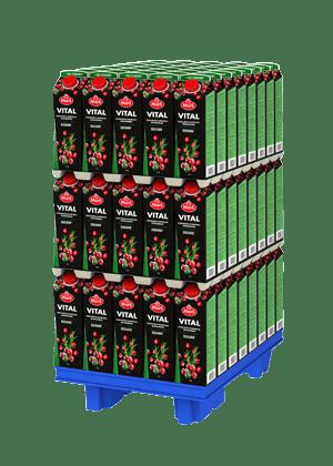 Marli Vital Puolukka-karpalo-rosmariini + E&C-vitamiini mehujuoma 1 L varttilava